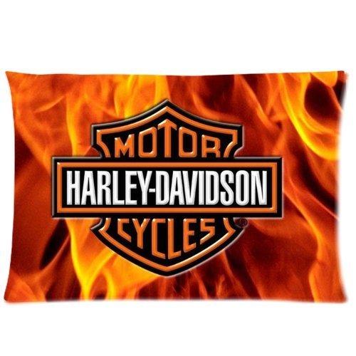 harley-davidson-zippered-pillowcasehousses-de-coussinpillow-casehousses-de-coussincovers-20x30-inche