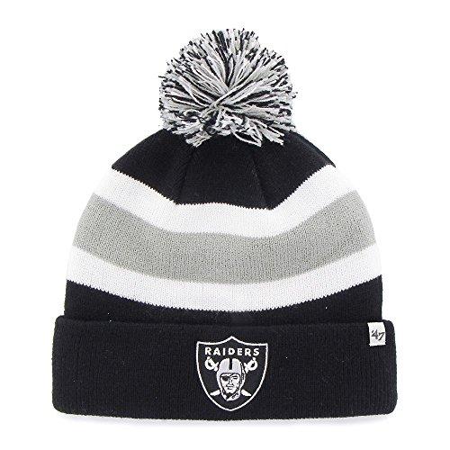 NFL '47abtrünnigen Cuff Knit Hat, Herren, F-BRKAW23ACE-BK, Schwarz, Einheitsgröße
