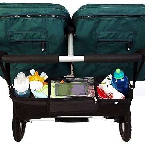 Kinderwagen-Organiser für Zwillilngskinderwagen - 5