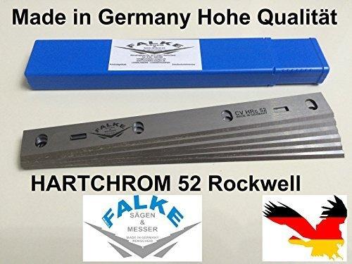 6 Stück Hobelmesser SCHEPPACH HT 850 Abricht & Dickenhobel