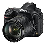 Nikon D850 + AF-S 24-120 F/4 G VR Fotocamera Reflex Professionale 45.4 MP, Sensore CMOS FX, Filmati 4K/UHD Full Frame, EXPEED 5, Nero [Nital Card: 4 Anni di Garanzia]
