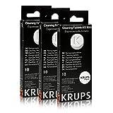 3 x Krups-xS 3000–tablette de nettoyage (lot de 10)