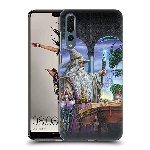 Head Case Designs Offizielle Ed Beard Jr Botschafter Drachen von Dem Zauberer Fantasie Ruckseite Hülle für Huawei P20 Pro