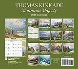 Image de Thomas Kinkade Special Collector's Edition 2016 Deluxe Wall Calendar: Mountain Majesty