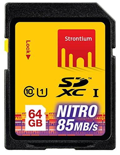 Strontium 64 GB NITRO SDXC NITRO 566X Memory Card - Class-10