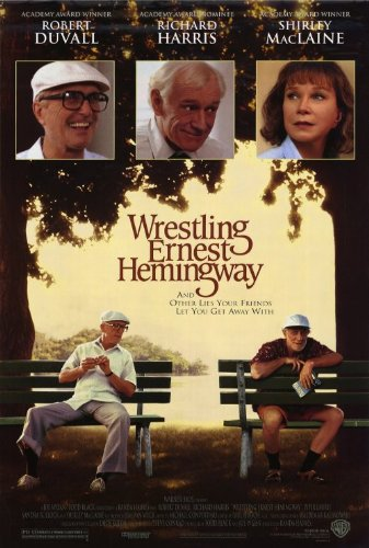 Wrestling Ernest Hemingway Plakat Movie Poster (27 x 40 Inches - 69cm x 102cm) (1993) (Usa Wrestling Poster)