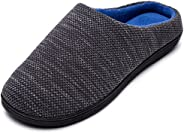 RockDove - Zapatillas de casa originales de espuma viscoelástica para hombre, en dos tonos