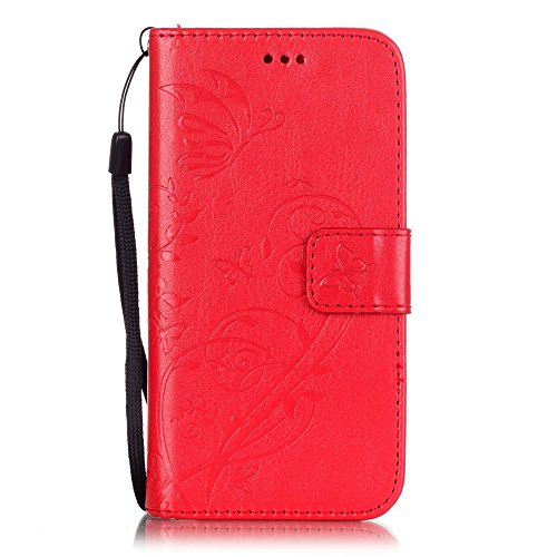 Nutbro iPhone 5C Case,iPhone 5C Wallet Case,5C Case, PU Leather Flip Wallet Case for iPhone 5C YB-iPhone-5C-224