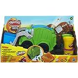 Play-Doh - A3672E240 - Pâte à Modeler - Super Camion Poubelle