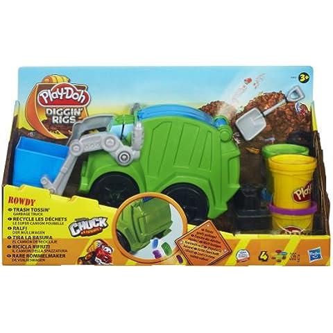 Play-Doh - Camión de reciclaje (Hasbro A3672E24)