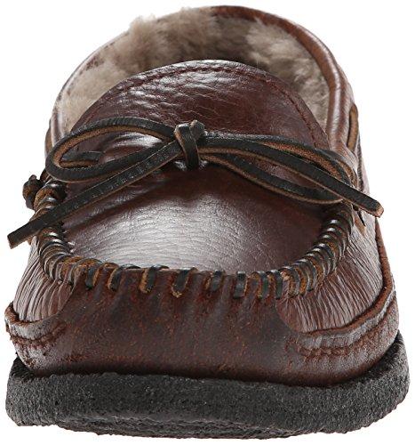 FRYE Mens Porter Tie Moccasin Brown
