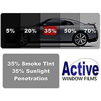 Active Film Limo Black, Medium, Light & Ultra Light Car Auto Tint Window Tinting Film 35% Light Black 1mx50cm
