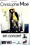 Christophe Mae - En Concert - 80X120 Cm Affiche / Poster
