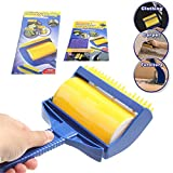 #7: EASELIFE Premium Quality Sticky Buddy Lint Cleaning Roller Brush Pet Hair Remover Washable Roller Brush