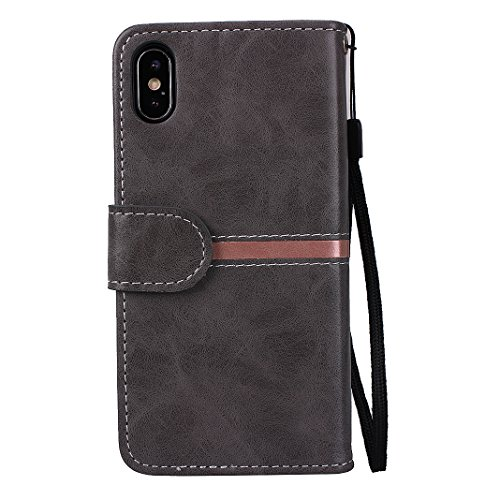 custodia iphone x antiurto flip