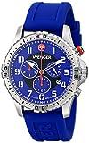 Wenger Herren-Armbanduhr XL SQUADRON CHRONO Analog Quarz Kautschuk 77057