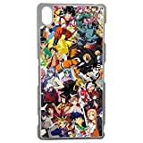 Générique Coque pour iPhone X Motif Manga One Piece Dragonball Naruto Ichigo Meddley