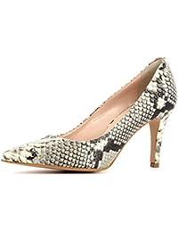 W & W Mujeres Ladies Crystal Diamante zapatos y bolsa de a juego Tama?o 5?–?11?(zona & Aria), color Plateado, talla 38.5