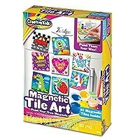 Creative Kids Magnetic Mini Tile Art – Diy - Make Your Own Paint Art Craft Set For Kids