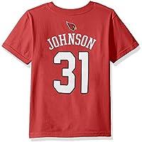 NFL por Outerstuff Boys NFL Toddler mainliner reproductor nombre y número camiseta de manga corta