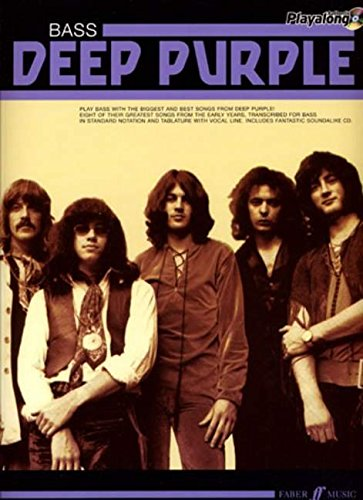 Deep Purple Authentic Playalong Bass: Bass Guitar Songbook