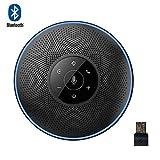 eMeet, impianto vivavoce Bluetooth - telefono da conferenza M2, altoparlante, wireless 8 m a distanza, per conferenze per Skype, comunicazioni VoIP con smartphone, laptop o PC Plug and Play