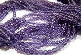 AAA Qualität Natürliche Amethyst rund facettiert Perlen 3–4mm/Afrikanische Amethyst Ball Form Perlen/Edelsteine Israel Schnitt Perlen/Strang 33cm
