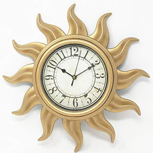Gerimport Reloj de Pared con diseño de Sol