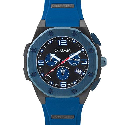 Otumm Speed Schwarz 45mm Blaues Farbe 11 SPBL45-011 Unisex Kollektionen Watch