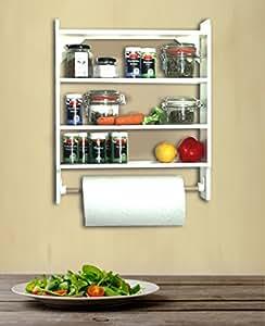 Parete porta rotolo di carta da cucina tazza porta o - Porta rotolo carta da cucina ikea ...