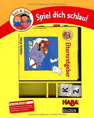 Hexe Habiba im Buchstabenwald: Lernthema: Buchstaben und Laute, erstes Lesen. Duden-Haba-Spiel dich schlau!
