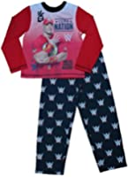 ThePyjamaFactory Boys WWE John Cena Pyjamas 6 to 12 Years W15