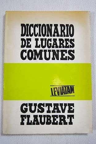 Descargar Libro Diccionario de Lugares Comunes de Gustave Flaubert