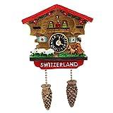 AGGIEYOU Handmade 3D Harz Kuckucksuhr Reise Souvenirs Kreative Kühlschrank Magnetischen Aufkleber Dekoration, 1