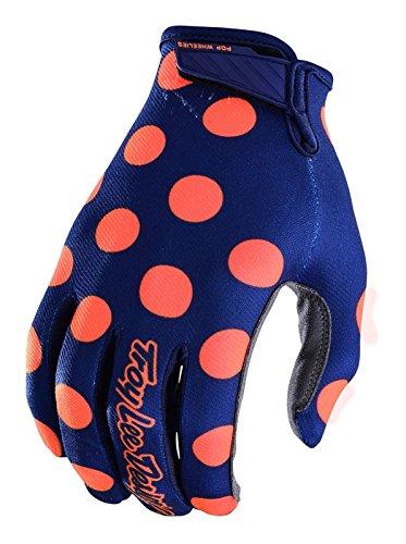 Troy Lee Designs 2018 TLD Air Gloves Polka Dot Navy/Orange