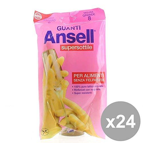 set-24-ansell-guanti-supersottili-grande-prodotti-per-le-pulizie