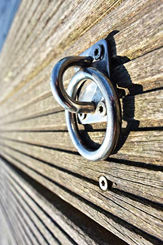 Mooring Ring on the Dock Journal: Take Notes, Write Down Memories in this 150 Page Lined Journal -
