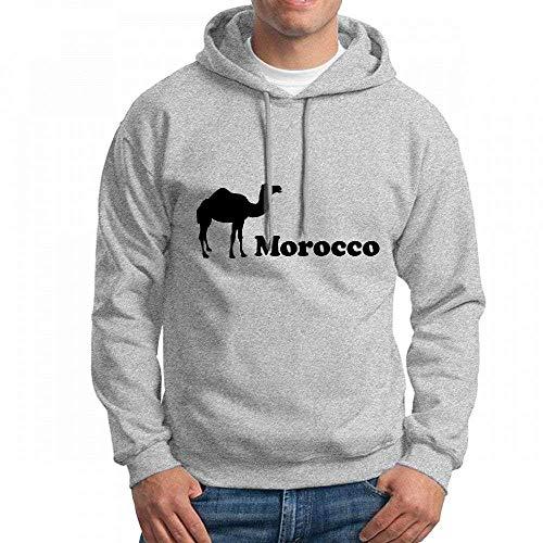 ruziniujidiangongsi Customizable Personalized Morocco Hoodie Sweatshirt