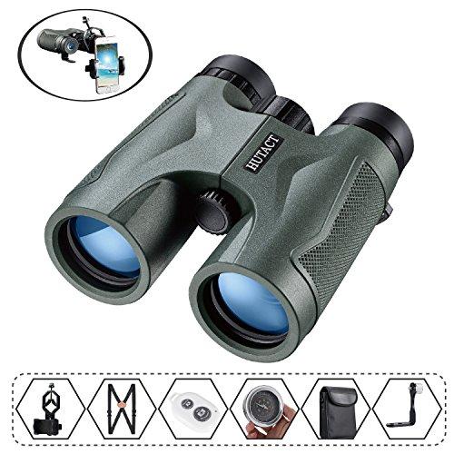 HUTACT Fernglas Kompakt 10x42 Geeignet für die Vogelbeobachtung, Konzerte, Sportevents, Camping,...