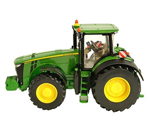 Britains Tomy John Deere 8400R - Kinder Traktor mit Lenkung und 3-Punkt-Anhängerkupplung - Hochwertiger Traktor für Kinder ab 3 Jahre Zum Spielen und Sammeln