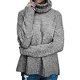 DEELIN Sweatshirt Langarm Comfort Einfarbig Casual Pullover Top