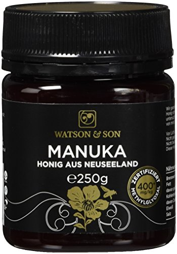 Watson & Son Manuka-Honig MGO 400+, 250 g