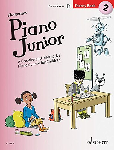 Piano Junior: Theory Book 2: A Creative and Interactive Piano Course for Children. Vol. 2. Klavier. (Piano Junior - englische Ausgabe)