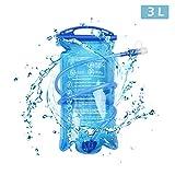 TRIWONDER 1.5-2-3L depósito de Agua de vejiga de hidratación Libre de BPA...