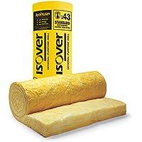Insulation Loft Roll quedando Isover ahorro de espacio 150mm x 1160mm x 6.03M