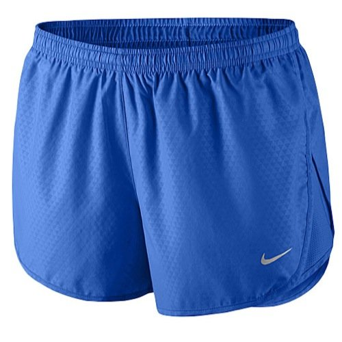 Dri-fit Tempo Running Shorts (Nike Beinkleid Mod Tempo Embross Run Shorts Women, blau, L, 588614-439)