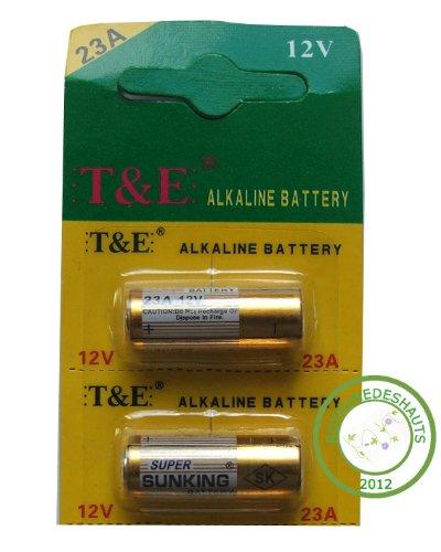 lot de 5 piles alkalin 12V 23A