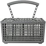SUDS-ONLINE cesta de cubiertos jaula & tapa para AEG lavavajillas (mango extraíble, 235x 242x 130)