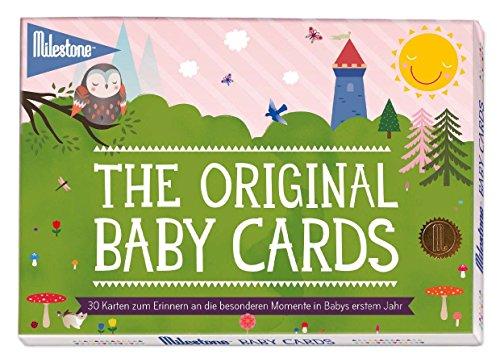 Milestone(TM) Baby Cards für die einzigartigen Momente im 1. Lebensjahr -