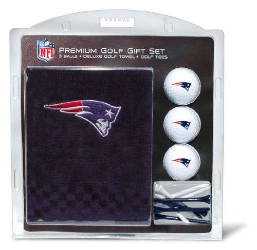 Team Golf NFL Besticktes Handtuch Geschenk-Set, 31720, New England Patriots, Einheitsgröße